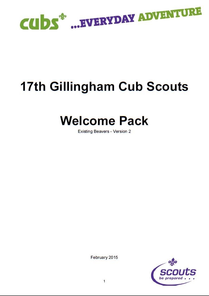 Cubs_exBeaver Welcome_Front_Feb15